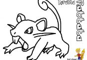 Pokemon Coloring Pages Rattata Pokemon Coloring Pages Rattata