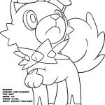 Pokemon Coloring Pages Rockruff Pokemon Coloring Pages Rockruff