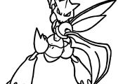 Pokemon Coloring Pages Scyther Pokemon Coloring Pages Scyther