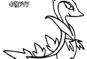 Pokemon Coloring Pages Serperior Pokemon Coloring Pages Serperior