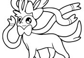 Pokemon Coloring Pages Sylveon Pokemon Coloring Pages Sylveon