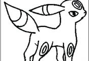 Pokemon Coloring Pages Umbreon Pokemon Coloring Pages Umbreon