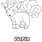 Pokemon Coloring Pages Vulpix Pokemon Coloring Pages Vulpix