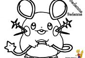 Pokemon Dedenne Coloring Pages Pokemon Dedenne Coloring Pages