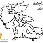 Pokemon Delphox Coloring Page Pokemon Delphox Coloring Page