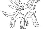Pokemon Dialga Coloring Pages Pokemon Dialga Coloring Pages