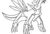 Pokemon Dialga Coloring Pages Pokemon Dialga Coloring Pages