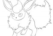 Pokemon Flareon Coloring Pages Pokemon Flareon Coloring Pages