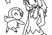 Pokemon Girl Coloring Pages Pokemon Girl Coloring Pages