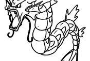 Pokemon Gyarados Coloring Pages Pokemon Gyarados Coloring Pages