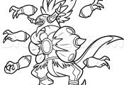 Pokemon Hoopa Coloring Pages Pokemon Hoopa Coloring Pages