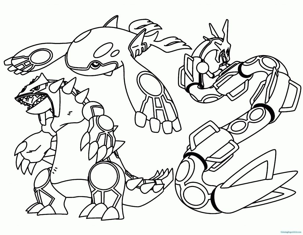 new series pokemon coloring pages - photo#12