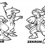 Pokemon Kyurem Coloring Pages Pokemon Kyurem Coloring Pages