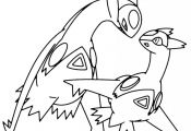Pokemon Latios Coloring Pages Pokemon Latios Coloring Pages