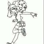 Pokemon May Coloring Pages Pokemon May Coloring Pages