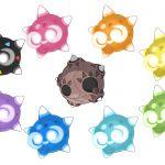 Pokemon Minior Colors Pokemon Minior Colors