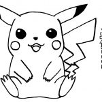 Pokemon Pikachu Coloring Pages Pokemon Pikachu Coloring Pages