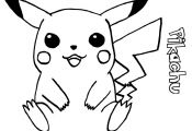 Pokemon Pikachu Coloring Pages Pokemon Pikachu Coloring Pages