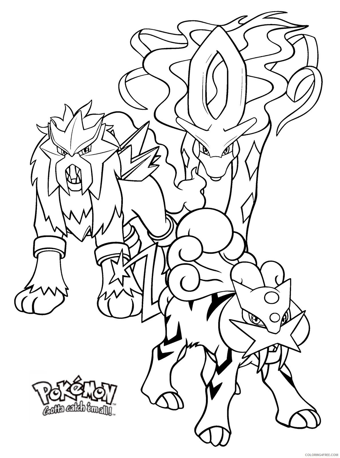 pokemon-raikou-coloring-pages-of-pokemon-raikou-coloring-pages Pokemon Raikou Coloring Pages Cartoon