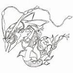 Pokemon Rayquaza Coloring Pokemon Rayquaza Coloring