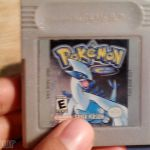 Pokemon Silver Gameboy Color Pokemon Silver Gameboy Color
