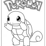 Pokemon Squirtle Coloring Pages Pokemon Squirtle Coloring Pages