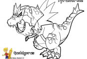 Pokemon Tyrantrum Coloring Pages Pokemon Tyrantrum Coloring Pages