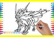 Pokemon Ultra Necrozma Coloring Pages Pokemon Ultra Necrozma Coloring Pages