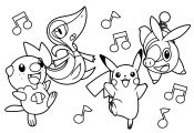 Pokemon Unova Coloring Pages Pokemon Unova Coloring Pages