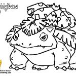 Pokemon Venusaur Coloring Pages Pokemon Venusaur Coloring Pages