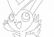 Pokemon Victini Coloring Pages Pokemon Victini Coloring Pages