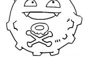 Pokemon Weezing Coloring Pages Pokemon Weezing Coloring Pages