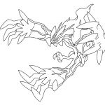 Pokemon Yveltal Coloring Pages Pokemon Yveltal Coloring Pages