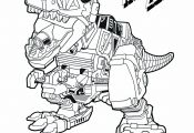 Power Ranger T Rex Coloring Page Power Ranger T Rex Coloring Page