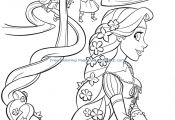 Pretty Princess Coloring Page Pretty Princess Coloring Page