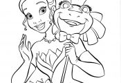 Princess and the Frog Coloring Pages Princess and the Frog Coloring Pages
