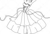 Princess Ballerina Coloring Pages Princess Ballerina Coloring Pages
