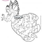 Princess Barbie Coloring Pages to Print Princess Barbie Coloring Pages to Print