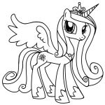 Princess Cadence Coloring Page Princess Cadence Coloring Page