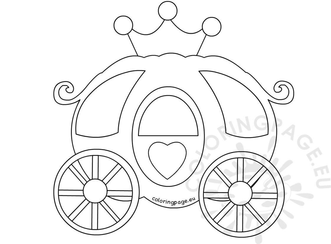 princess-carriage-coloring-pages-of-princess-carriage-coloring-pages Princess Carriage Coloring Pages Cartoon