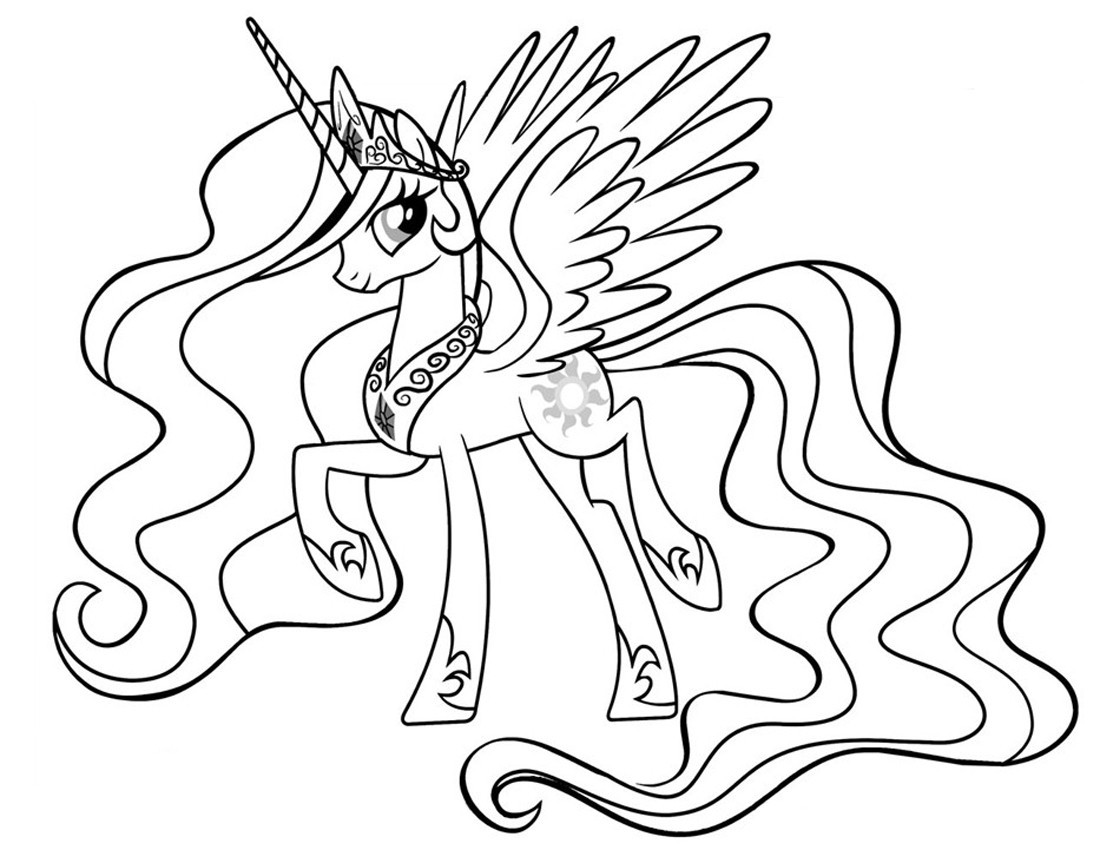 princess-celestia-coloring-pages-of-princess-celestia-coloring-pages Princess Celestia Coloring Pages Cartoon