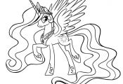 Princess Celestia Coloring Pages to Print Princess Celestia Coloring Pages to Print