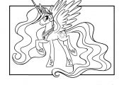 Princess Celestia Printable Coloring Pages Princess Celestia Printable Coloring Pages