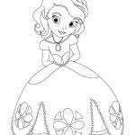 Princess Coloring Pages for Preschoolers Princess Coloring Pages for Preschoolers