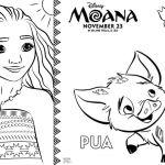 Princess Coloring Pages Moana Princess Coloring Pages Moana