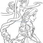 Princess Coloring Pages Rapunzel Princess Coloring Pages Rapunzel