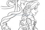 Princess Coloring Pages Tangled Princess Coloring Pages Tangled