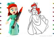 Princess Coloring Pages Youtube Princess Coloring Pages Youtube