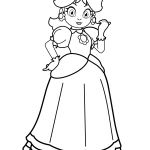 Princess Daisy Coloring Pages Princess Daisy Coloring Pages