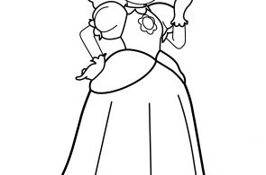 Princess Daisy Printable Coloring Pages Princess Daisy Printable Coloring Pages